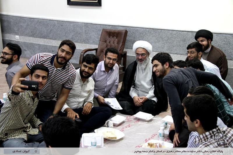 اعضای تشکل های دانشجویی دانشگاه های استان بوشهر